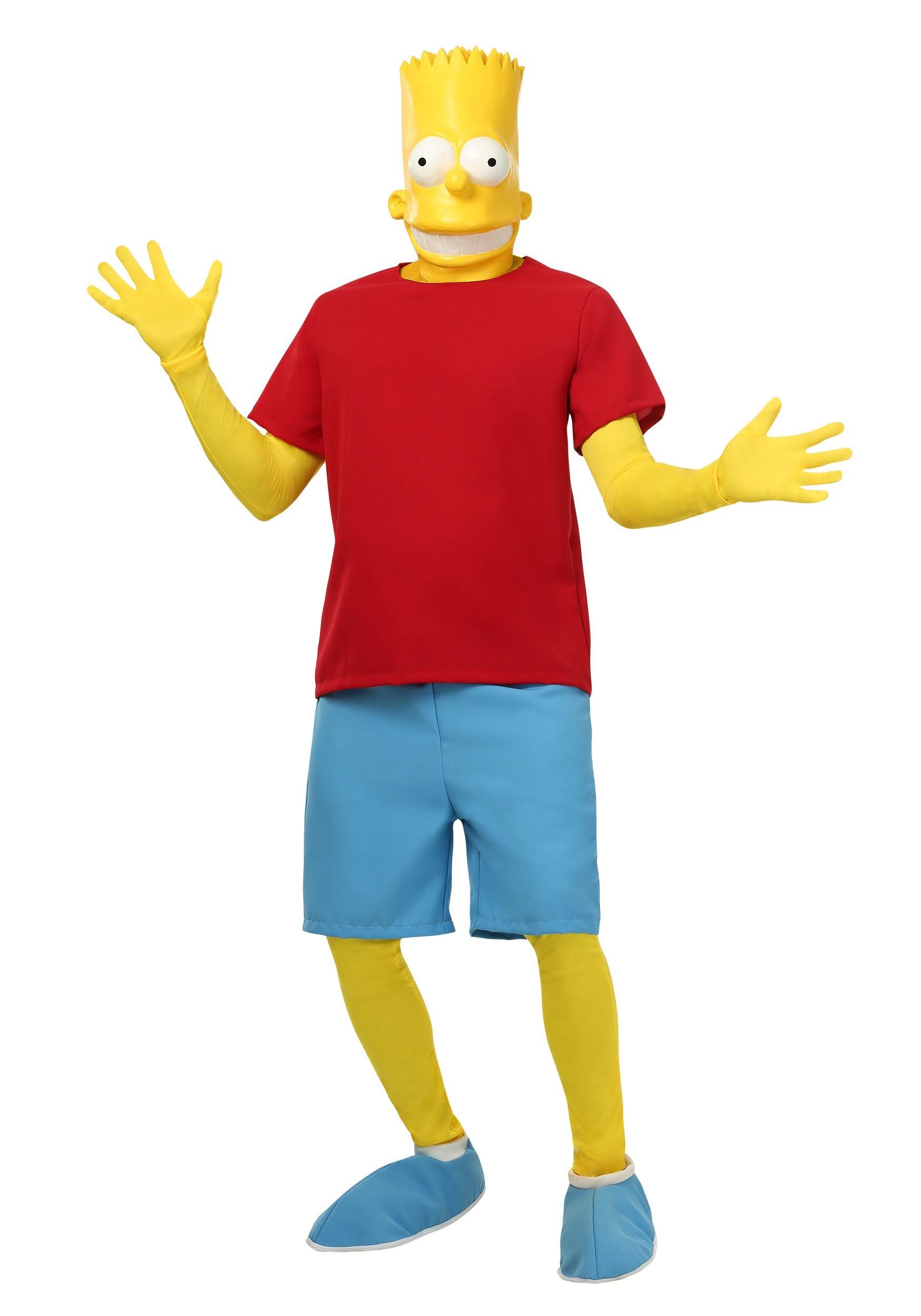 Men's Bart Simpson Costume SIM8241AD