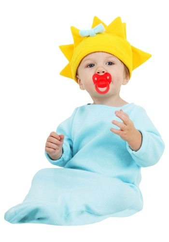 Click Here to buy Maggie Simpson Costume from HalloweenCostumes, USA Funds & Shipping