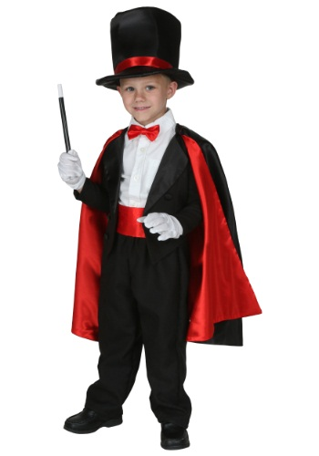 Click Here to buy Toddler Magic Magician Costume from HalloweenCostumes, USA Funds & Shipping