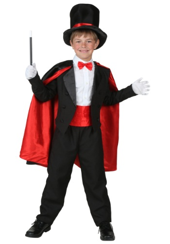 Magician Kids Costume