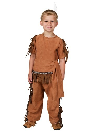 Toddler Native American Costume Update Main