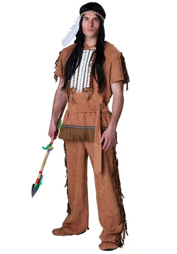 Click Here to buy Native American Warrior Costume from HalloweenCostumes, CDN Funds