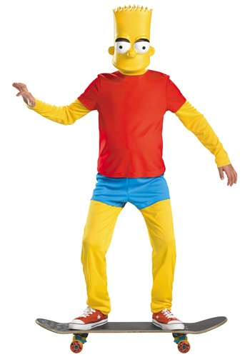 Kids Deluxe Bart Simpson Costume DI34548