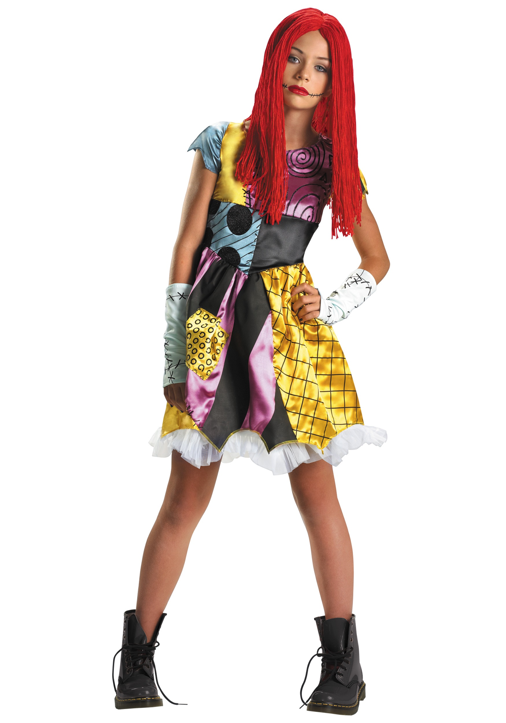 tween sally costume - Sally Nightmare Before Christmas Wig