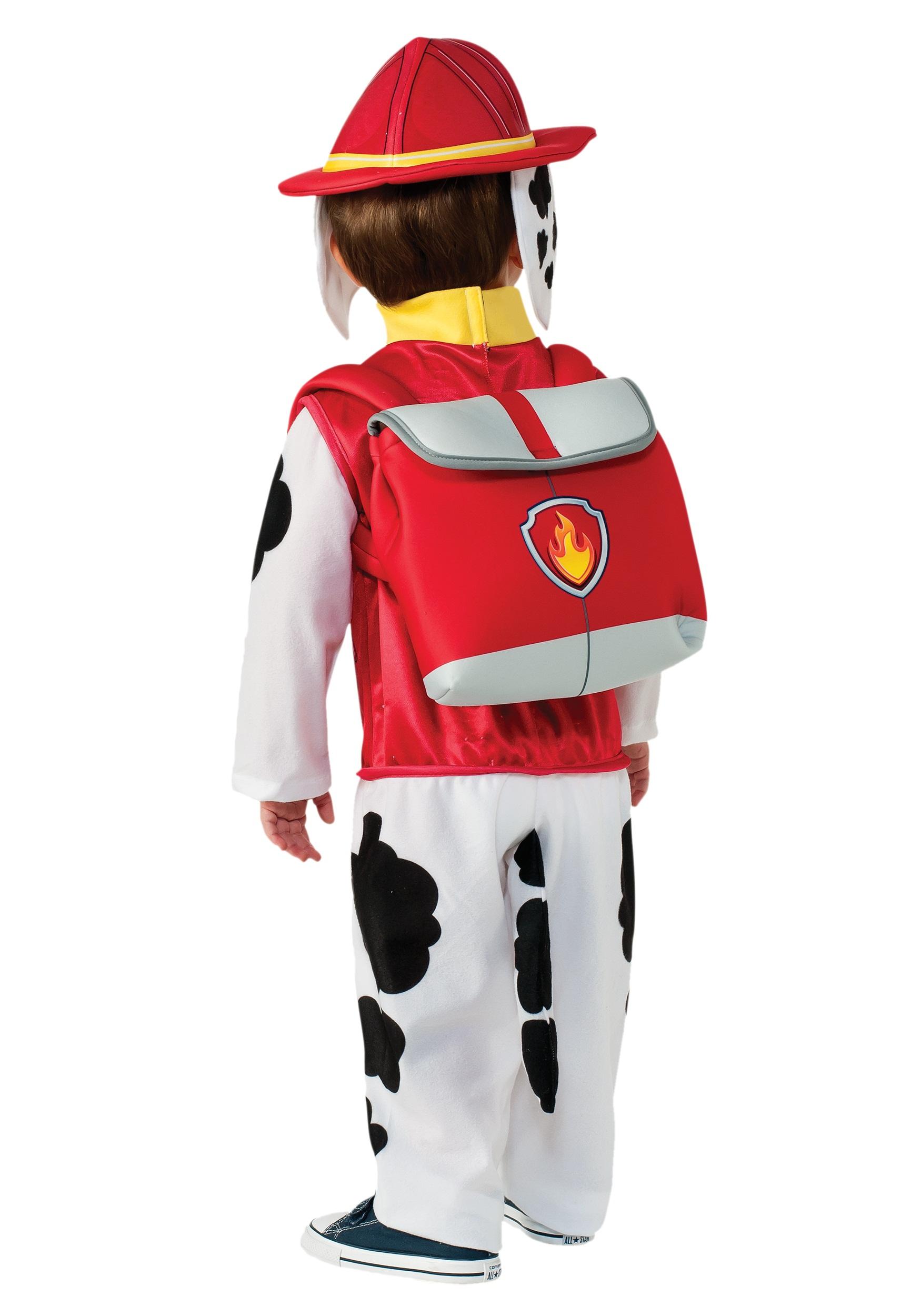Fireman Child Accessory Kit Paw Patrol Marshall Child Costume Alt