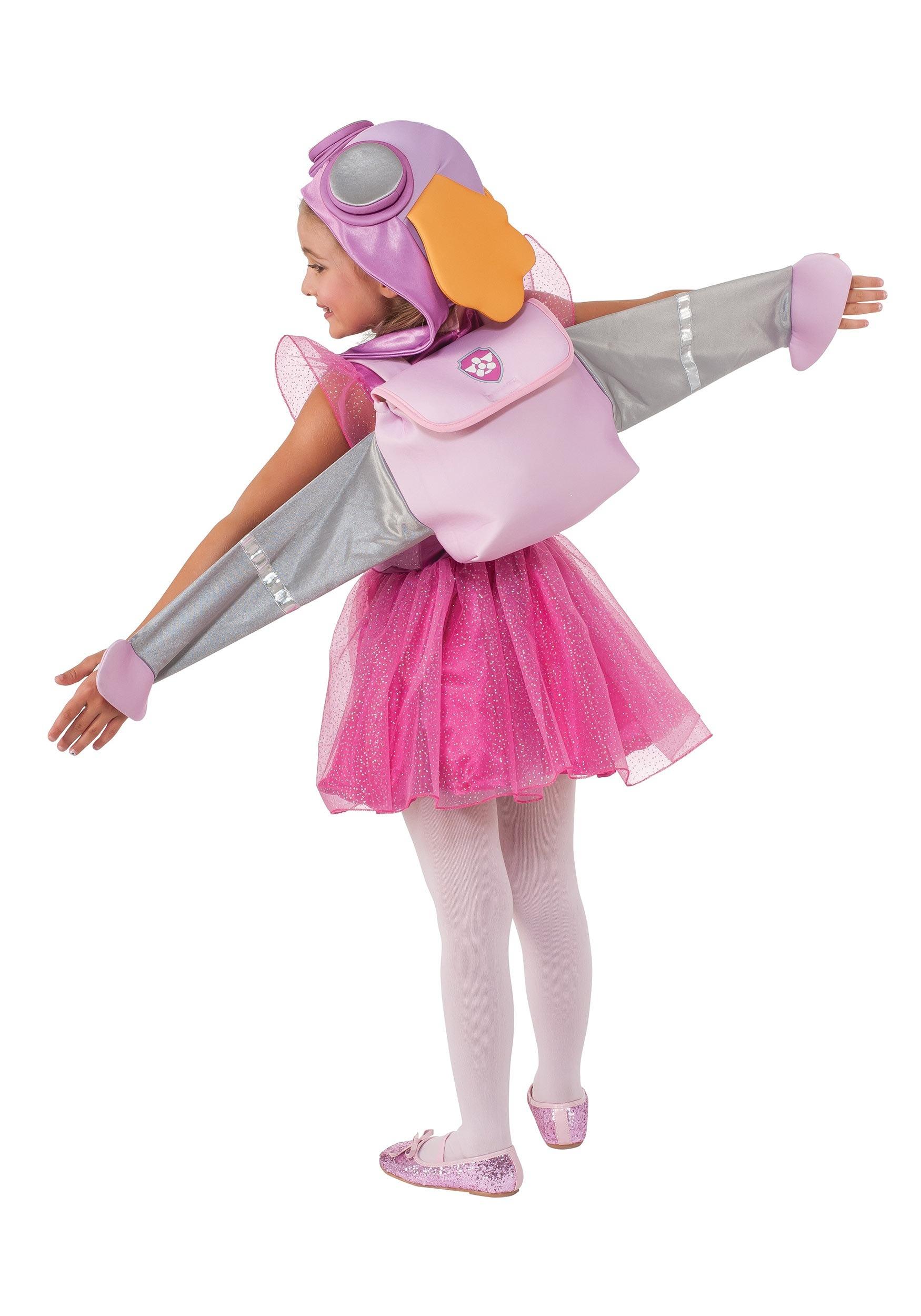 Paw patrol skye child costume - Deguisement petite fille ...