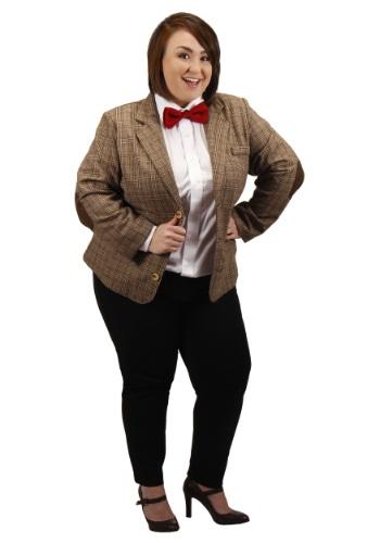 Plus Size Eleventh Doctor Women's Jacket