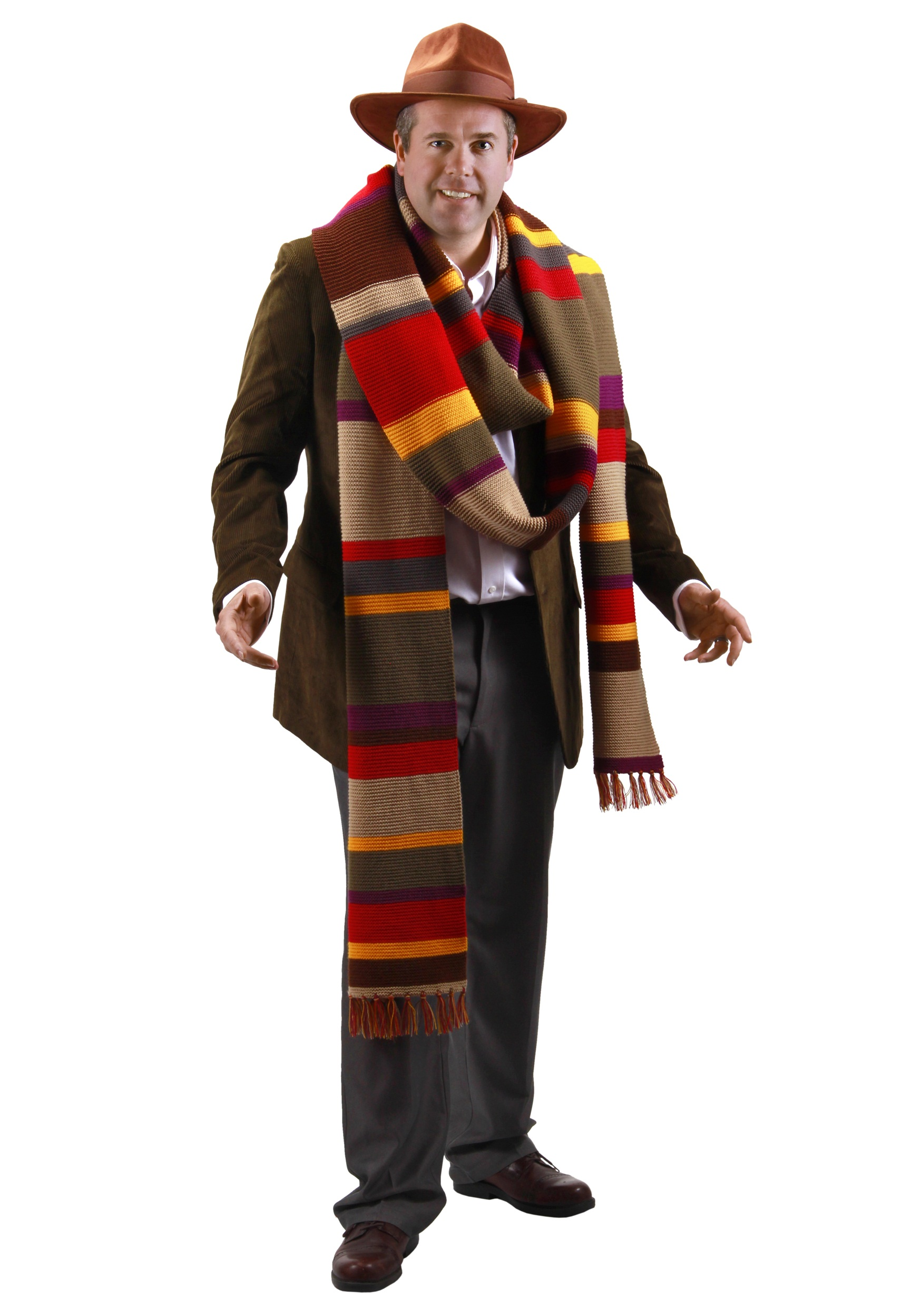 sc 1 st  Halloween Costumes & Fourth Doctor Premium Scarf
