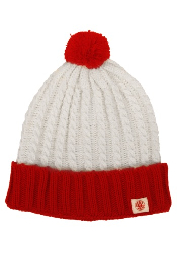 Wheres Waldo Deluxe Beanie By: Elope for the 2015 Costume season.