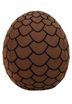 Game of Thrones Plush Brown Dragon Egg