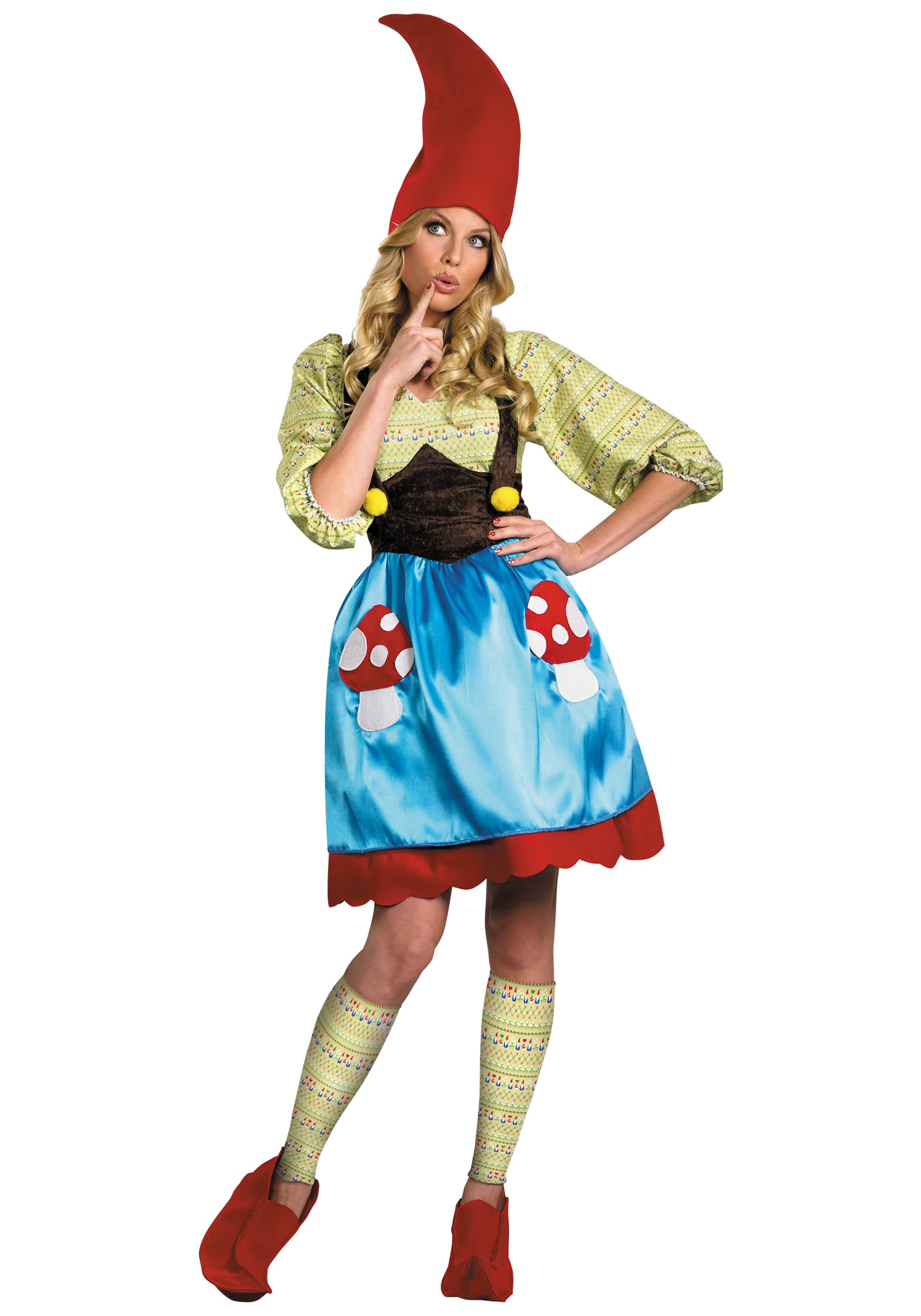 miss gnome costume. Black Bedroom Furniture Sets. Home Design Ideas