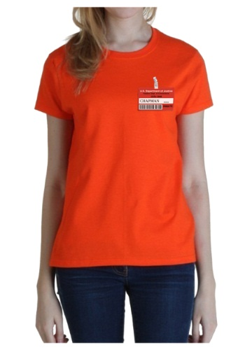 Womens Prison Costume T-Shirt