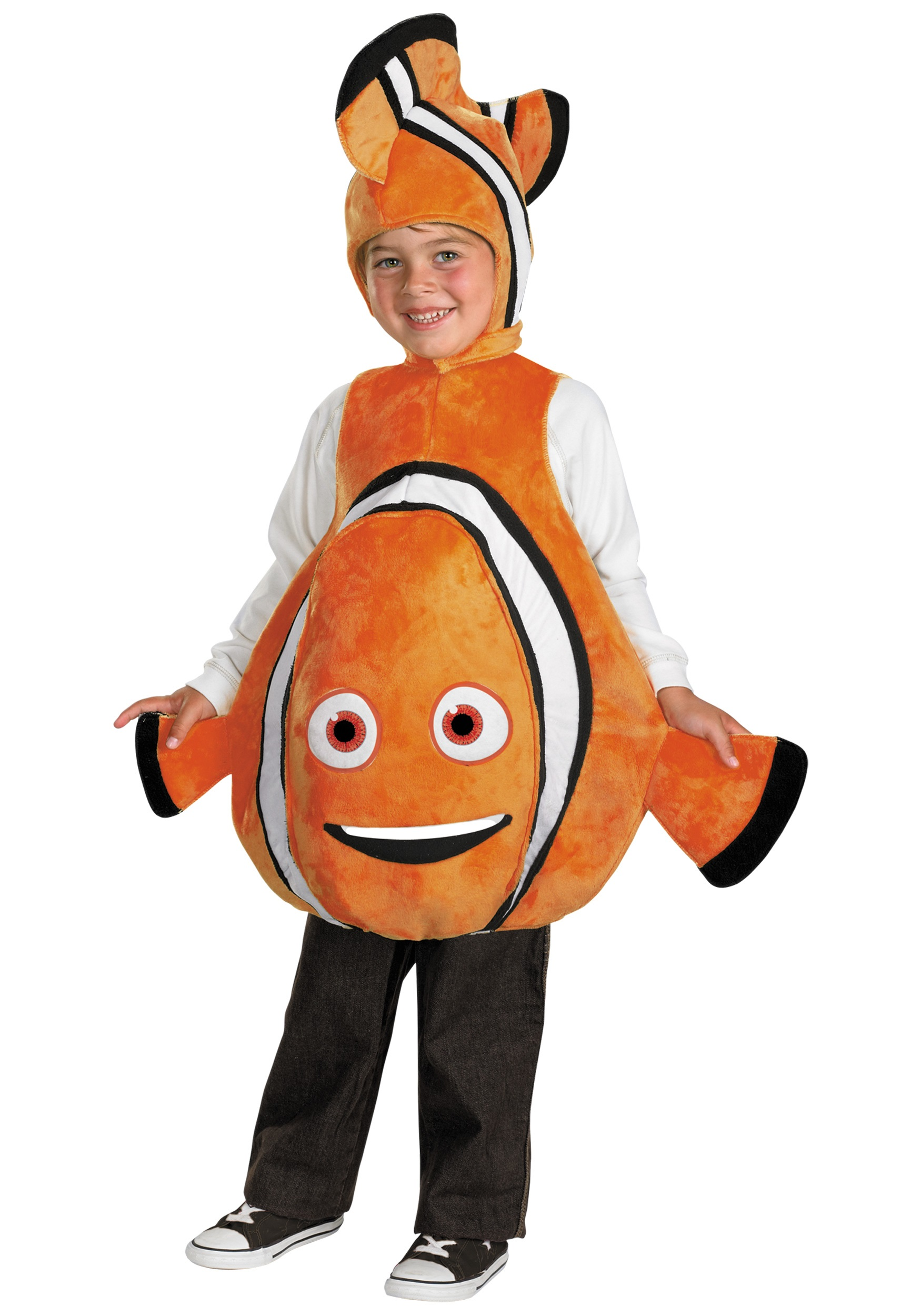Deluxe finding nemo child costume for Fish costume adult
