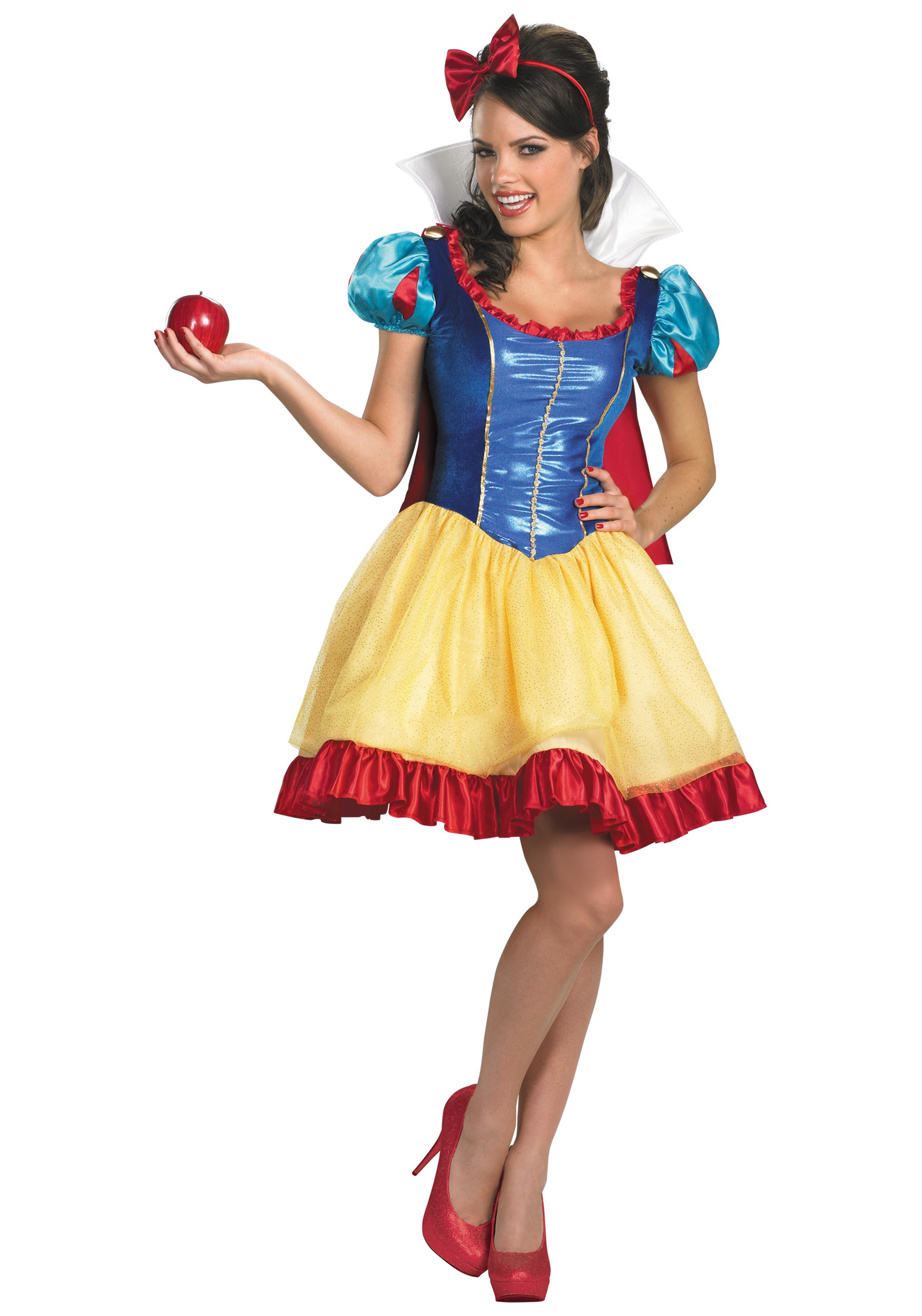 deluxe sassy snow white costume. Black Bedroom Furniture Sets. Home Design Ideas