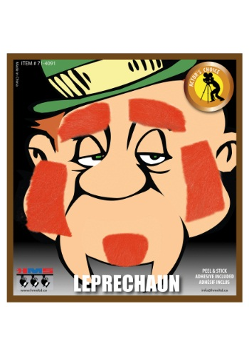 Click Here to buy Leprechaun Beard and Eyebrows Set from HalloweenCostumes, USA Funds & Shipping