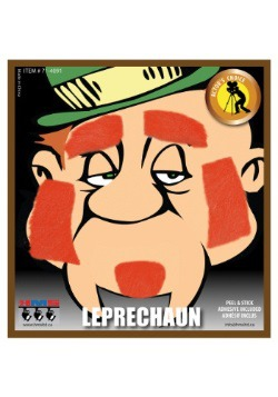 Leprechaun Beard and Eyebrows Set