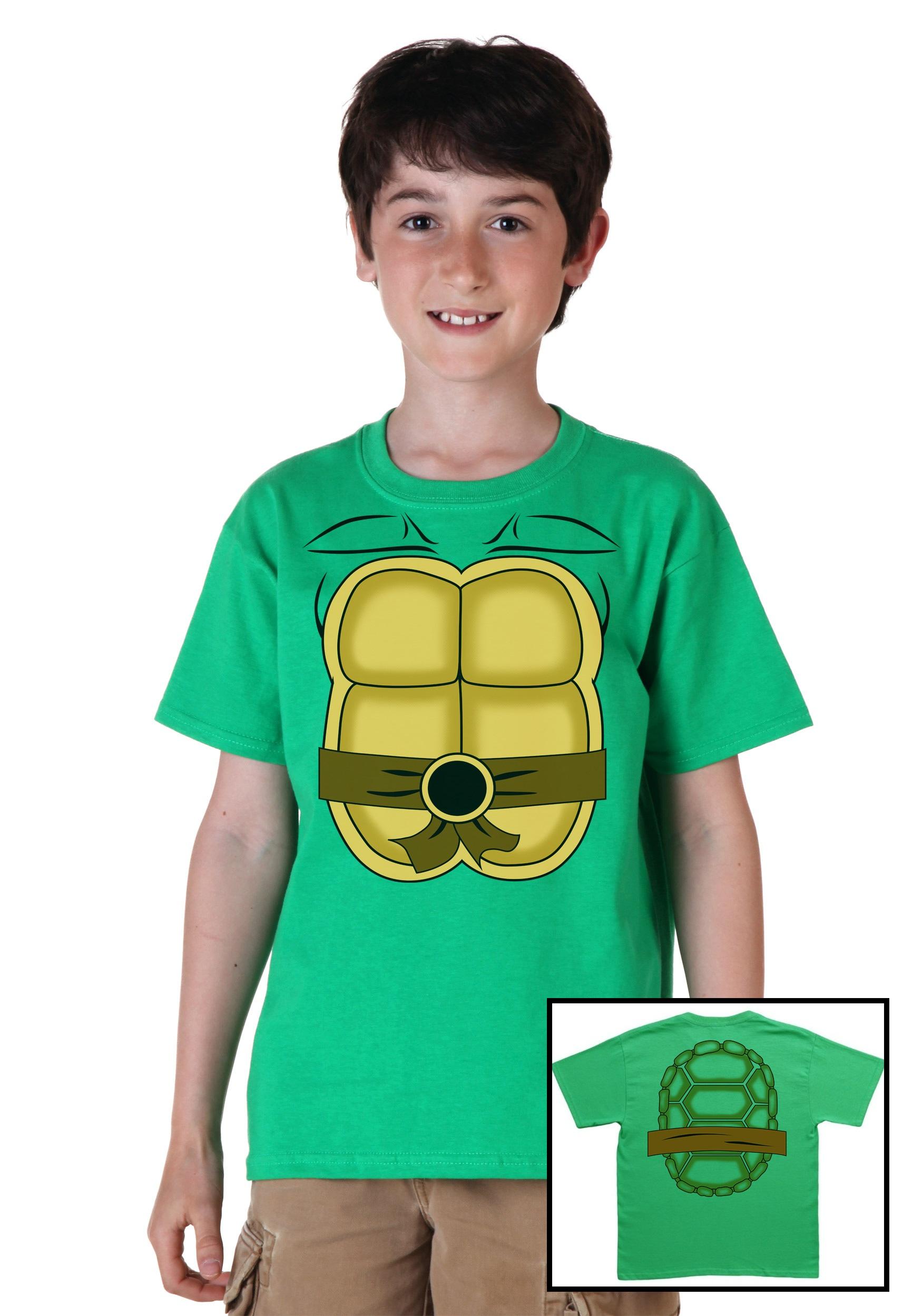 Kids Ninja Turtle Costume T Shirt