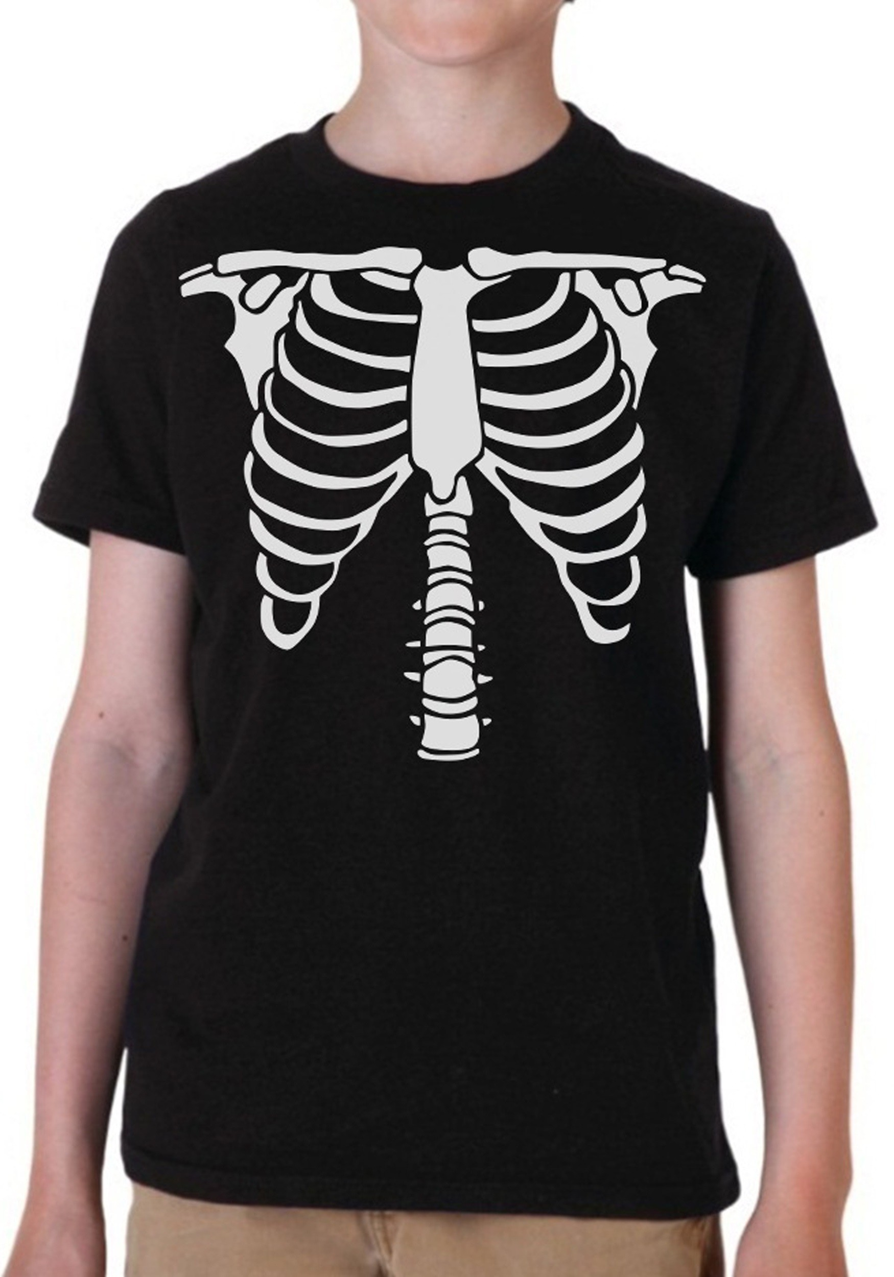 Boys skeleton costume t shirt for Costume t shirts online