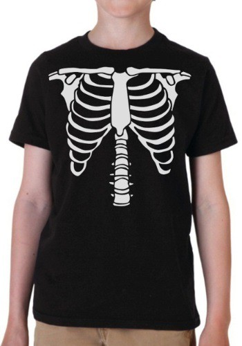 Boys Skeleton Costume T-Shirt