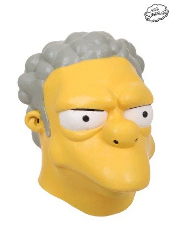 The Simpsons Moe Szyslak Mask By: Fun Costumes for the 2015 Costume season.