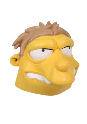 Click Here to buy The Simpsons Barney Mask from HalloweenCostumes, USA Funds & Shipping