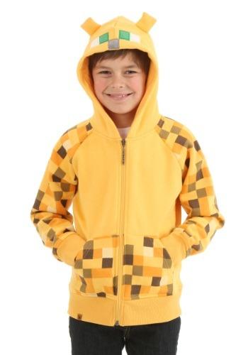Image of Kids Minecraft Ocicat Hoodie