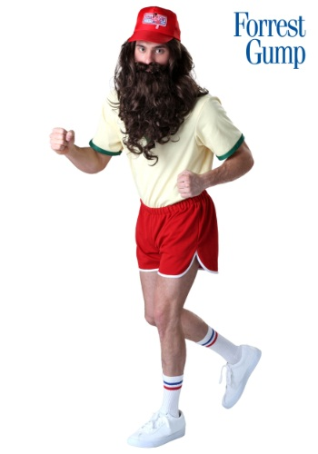 Plus Size Running Forrest Gump Costume