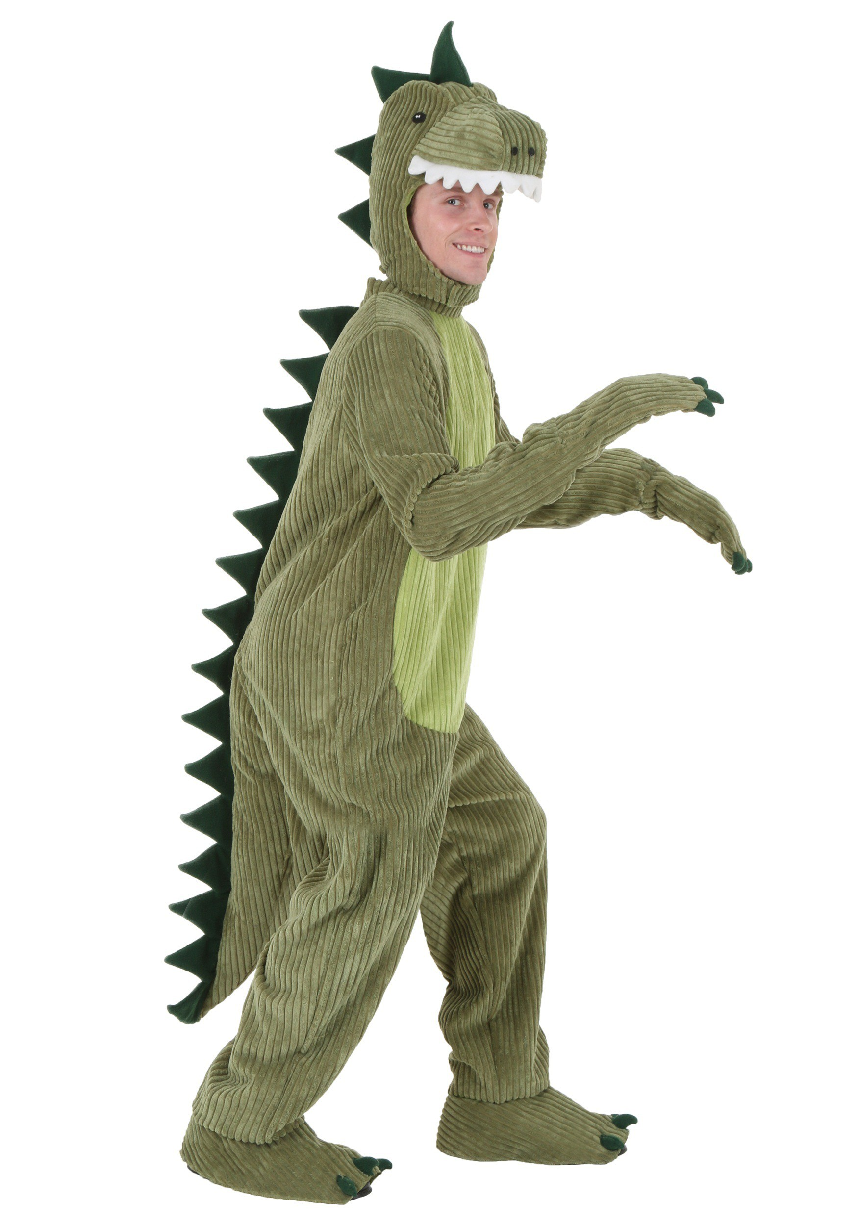 plus size t rex costume