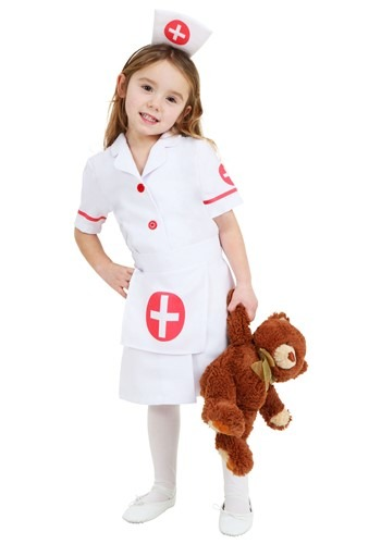Toddler Nurse Costume Update Main