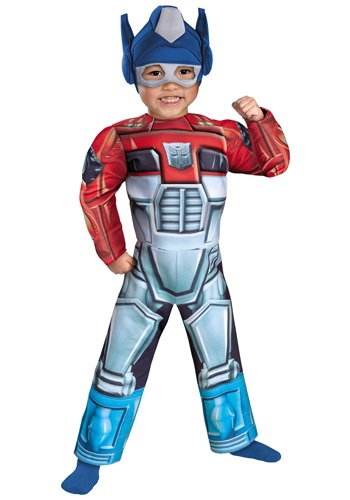 Click Here to buy Toddler Optimus Prime Rescue Bot Costume from HalloweenCostumes, USA Funds & Shipping