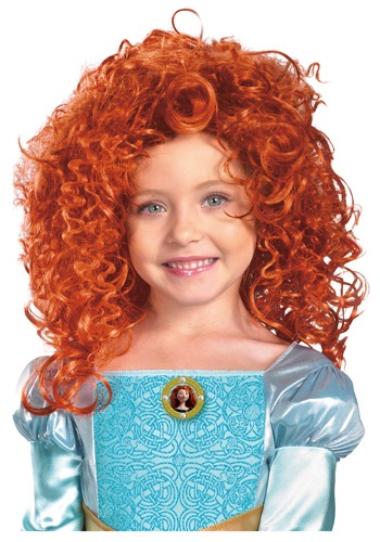 Merida Wig By: Disguise for the 2015 Costume season.