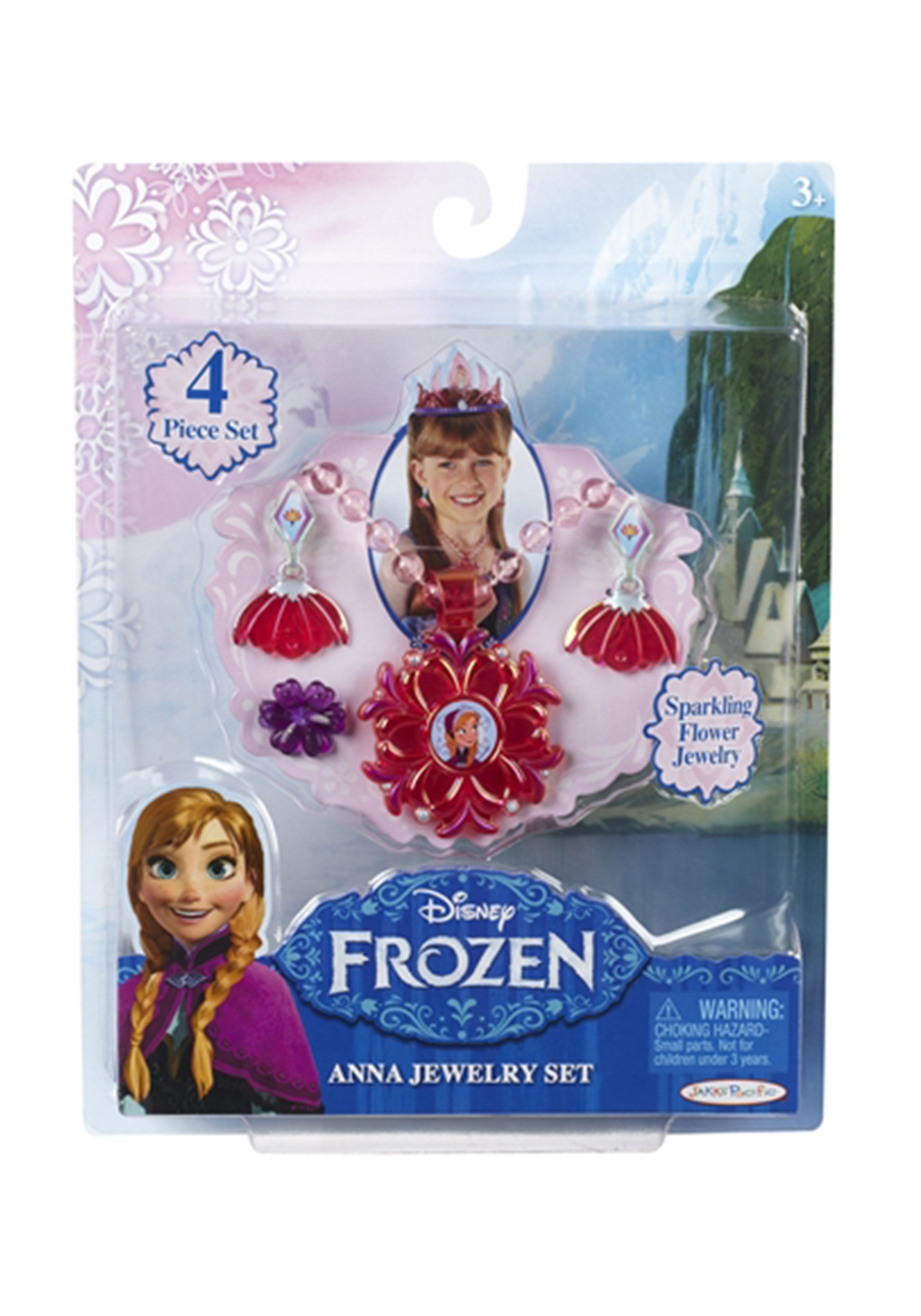 Frozen Anna Jewelry Set