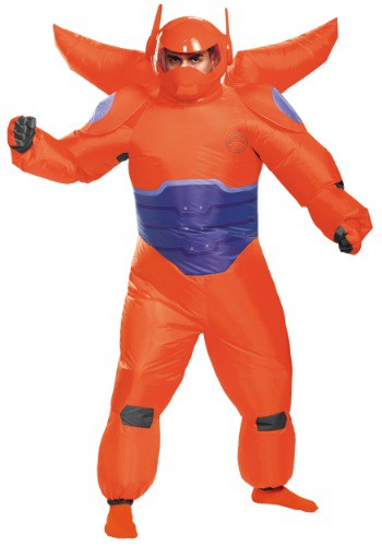 Click Here to buy Adult Red Baymax Inflatable Costume from HalloweenCostumes, CDN Funds