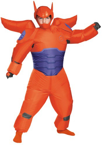 Click Here to buy Boys Red Baymax Inflatable Costume from HalloweenCostumes, USA Funds & Shipping