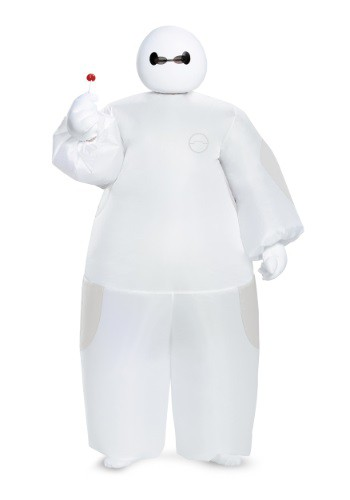 Boys White Big Hero 6 Baymax Inflatable Costume ()