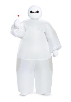Boys White Big Hero 6 Baymax Inflatable Costume