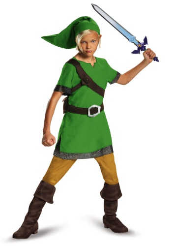 Boys Classic Link Legend of Zelda Costume