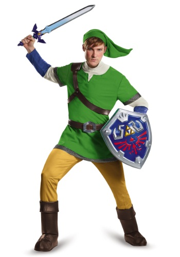 Click Here to buy Deluxe Adult Link Costume from HalloweenCostumes, CDN Funds