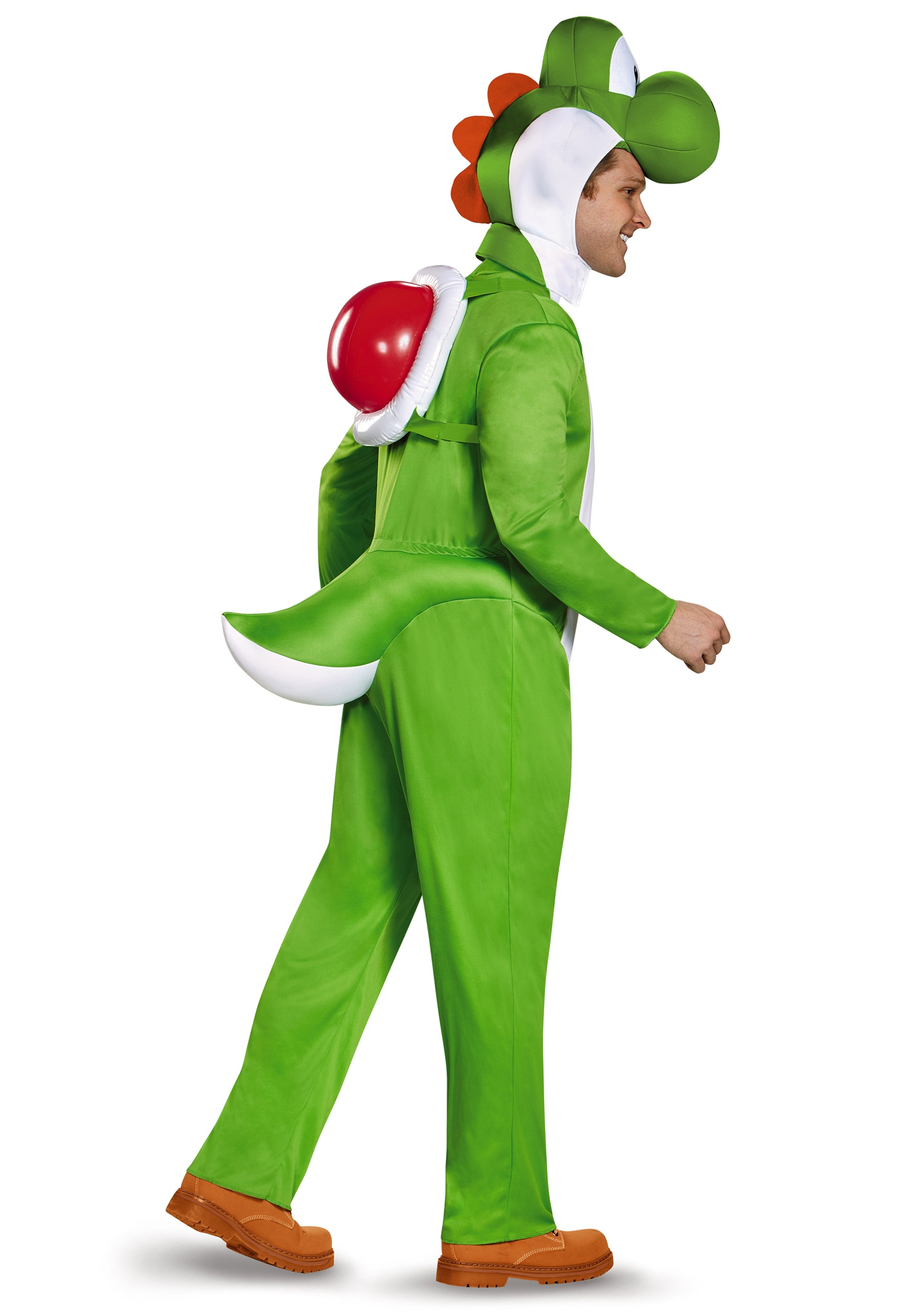 plus size deluxe yoshi costume. Black Bedroom Furniture Sets. Home Design Ideas