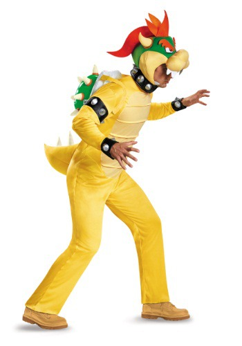 Click Here to buy Plus Size Deluxe Bowser Costume 2X from HalloweenCostumes, CDN Funds