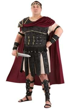 Plus Size Roman Gladiator Costume