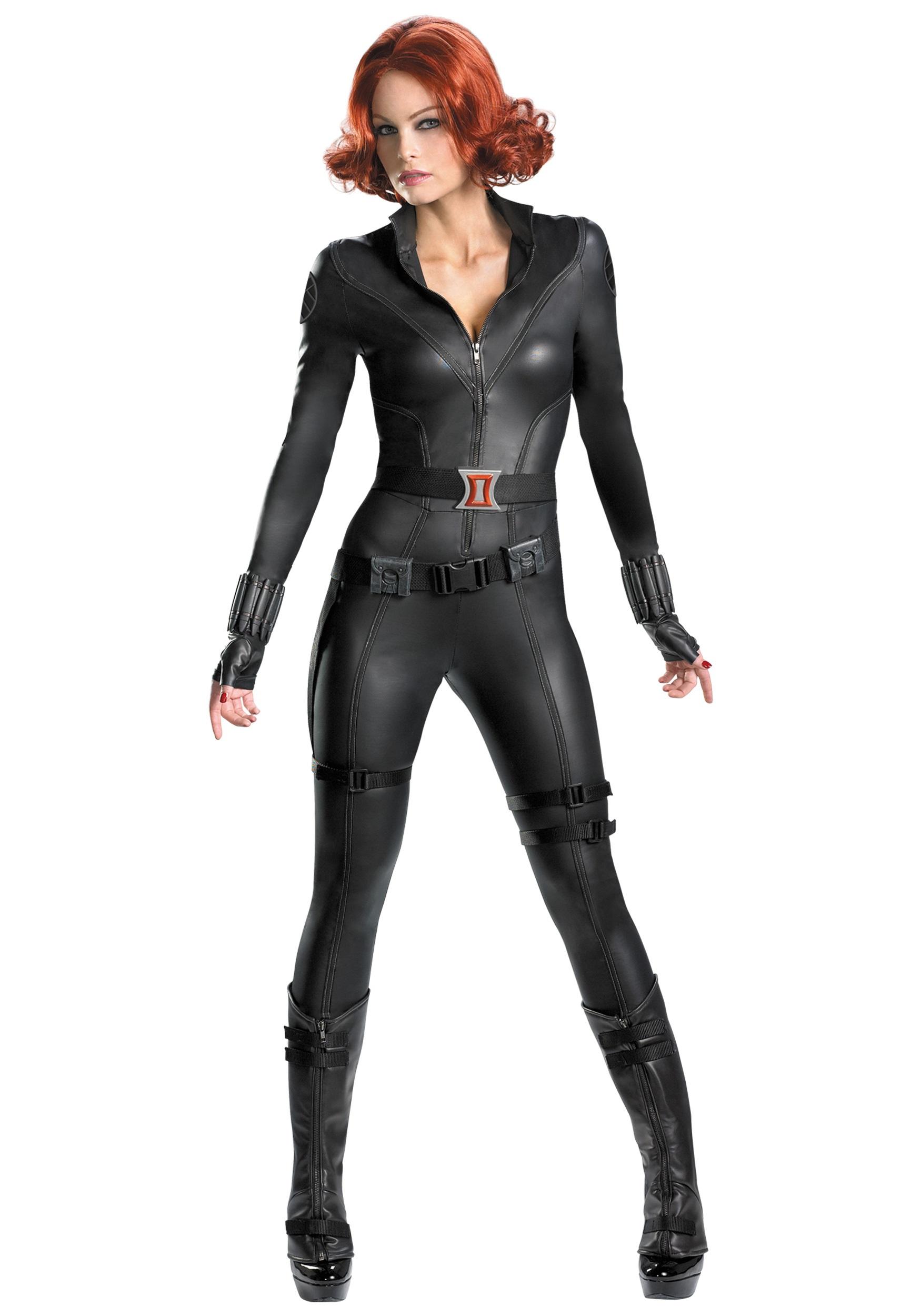 Avengers Replica Black Widow Costume