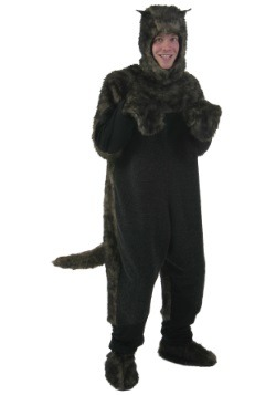 Plus Size Black Dog Costume