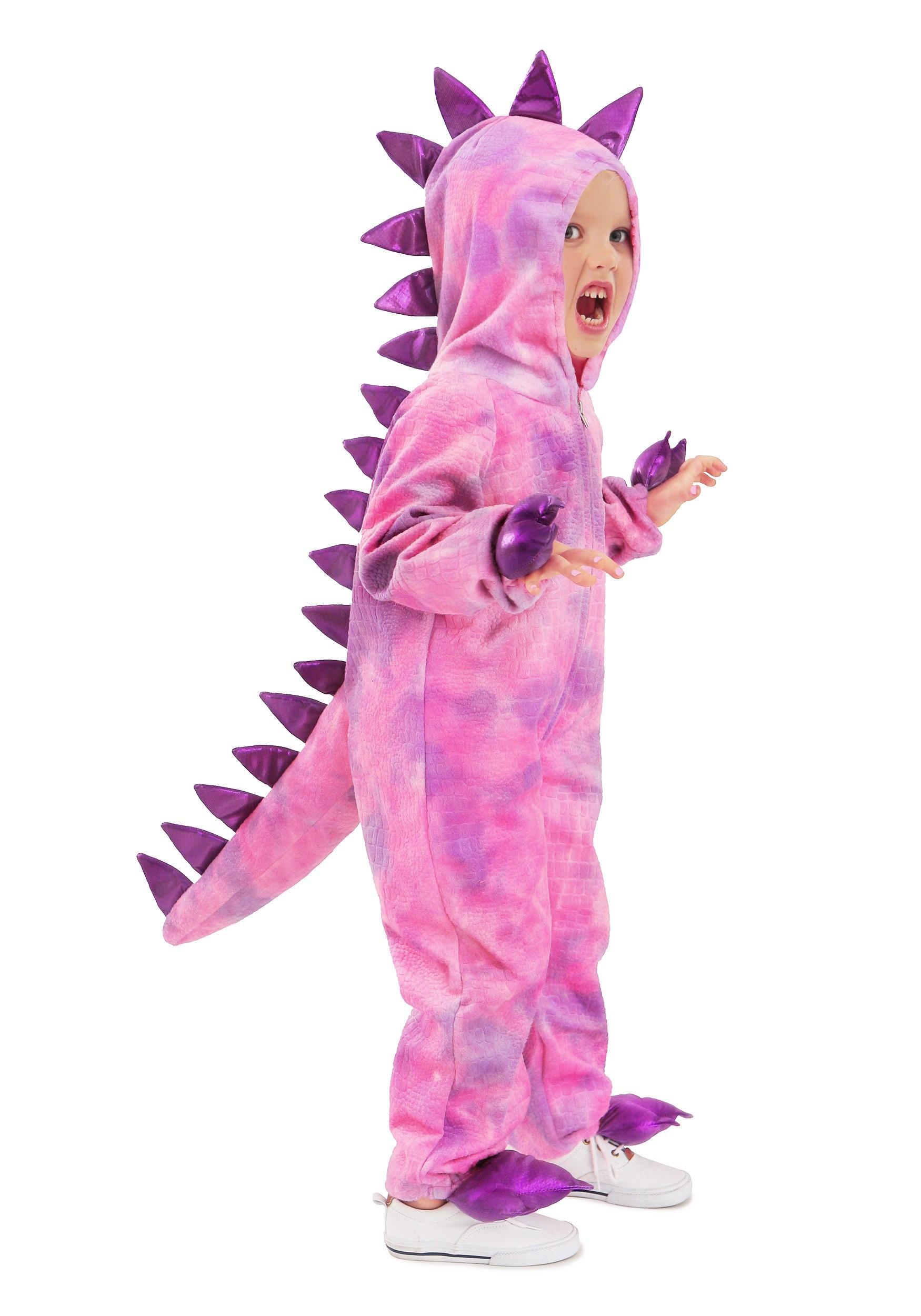 Dinosaur Halloween Costume Pink Dinosaur Toddler Girl Halloween Costume kids costumes