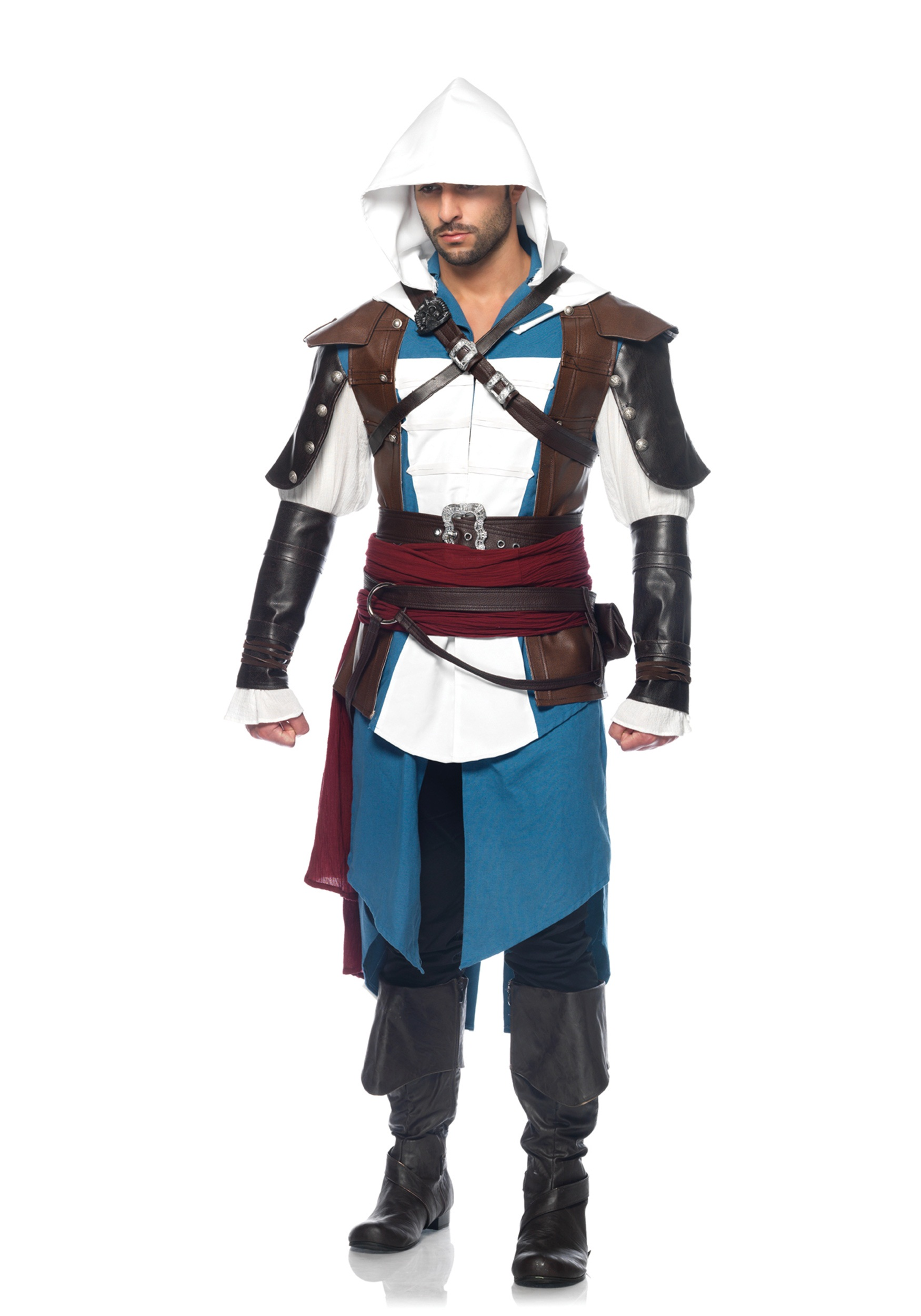 Assassins Creed Edward Kenway Deluxe Costume LEAS85352