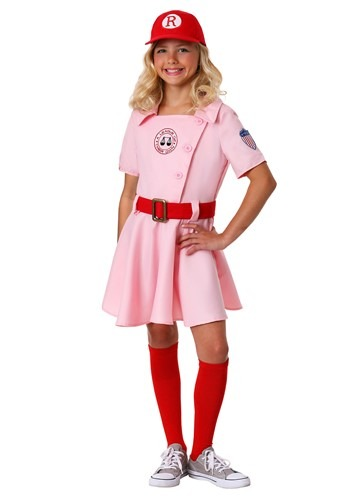 Girls Dottie Costume from A League of Their Own LEA8300CH-S