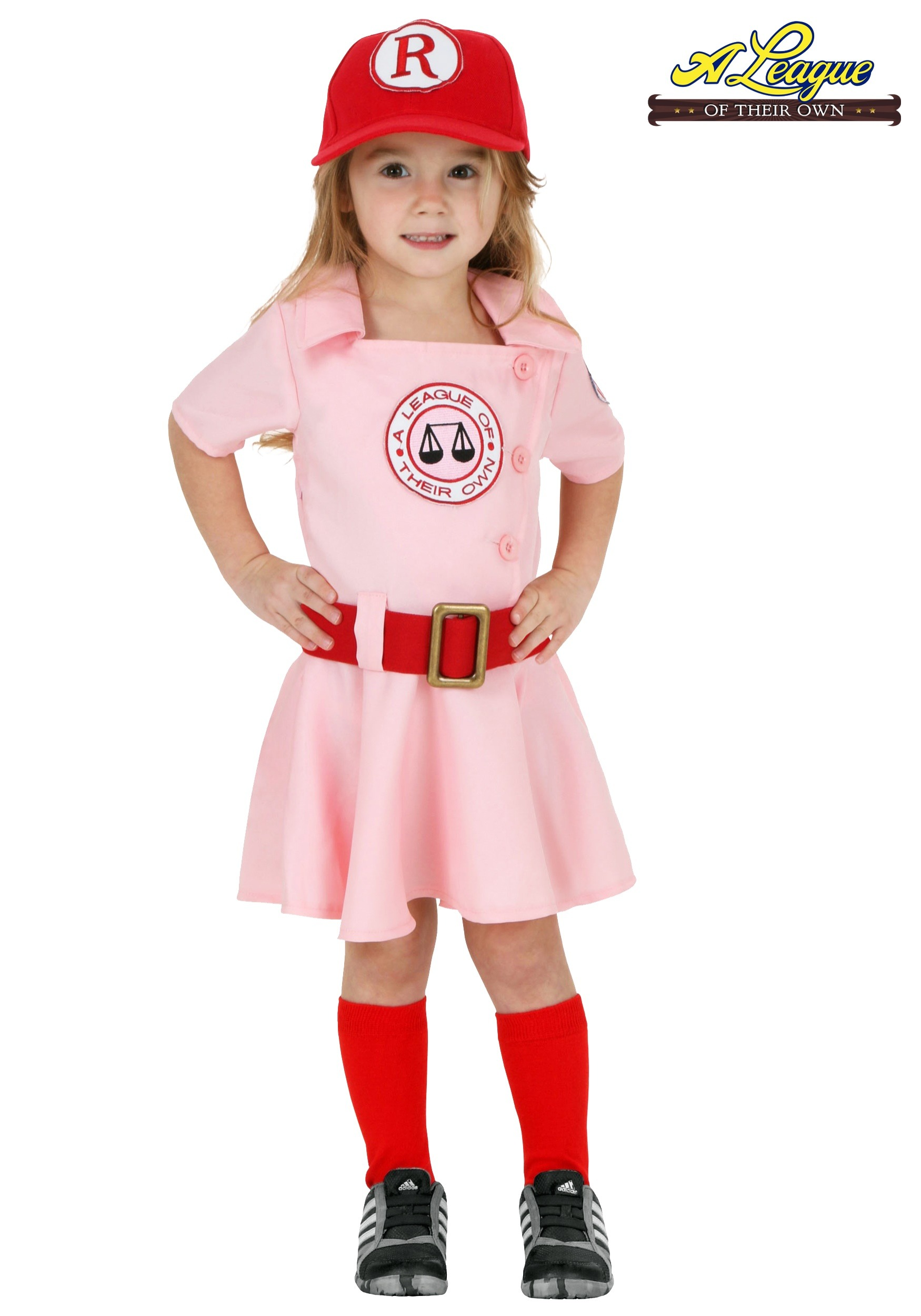 Halloween Costume 77084.Toddler A League Of Their Own Dottie Costume