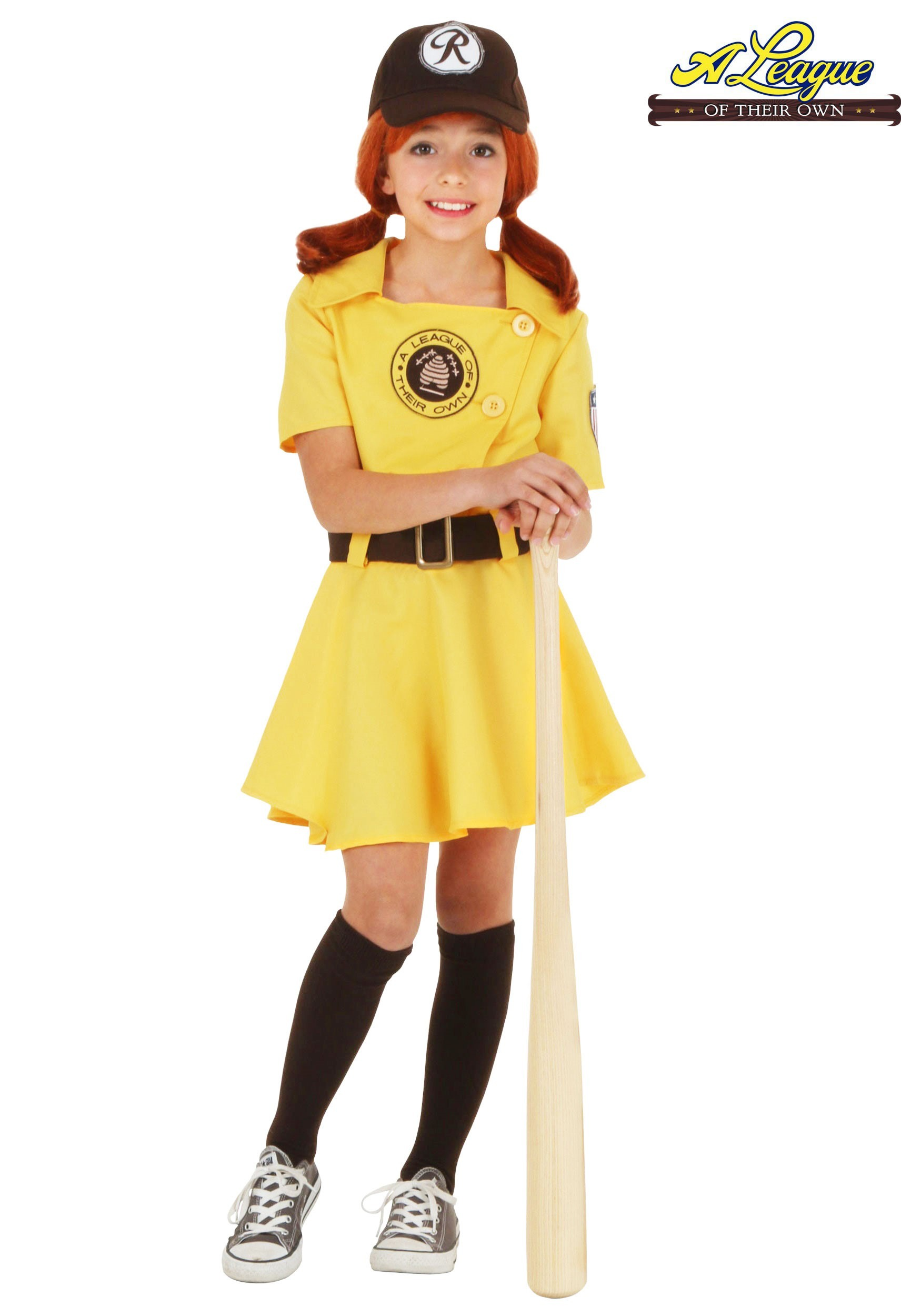 Deluxe Rockford Peaches Costume  |A League Of Their Own Costume