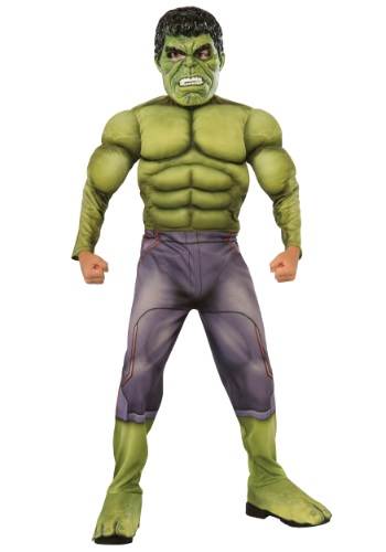 Child Deluxe Hulk Avengers 2 Costume By: Rubies Costume Co. Inc for the 2015 Costume season.