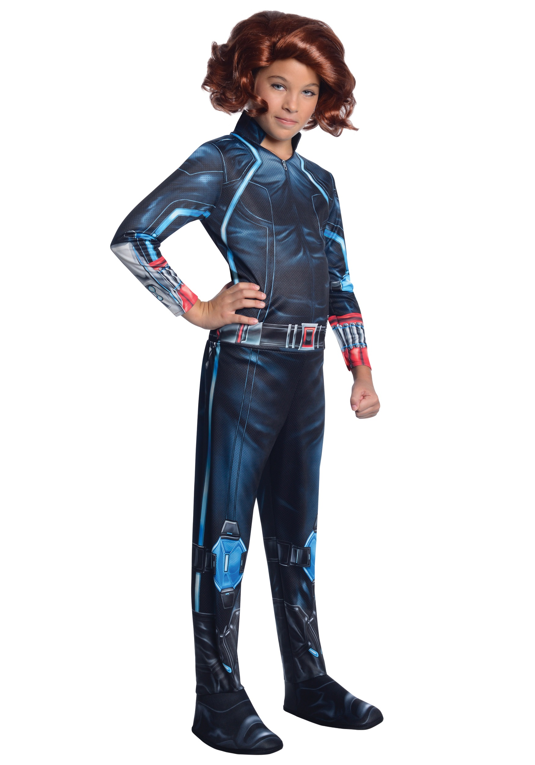 Black Widow Avengers Natasha Romanoff Marvel Superhero Halloween Child Costume
